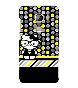 Cool Crazy Fashion 3D Hard Polycarbonate Designer Back Case Cover for LeEco Le Max 2 :: Letv Le Max 2