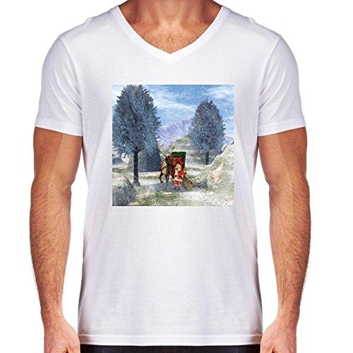 camiseta-blanca-con-v-cuello-para-los-hombres-tamao-m-de-santa-calus-by-nicky2342