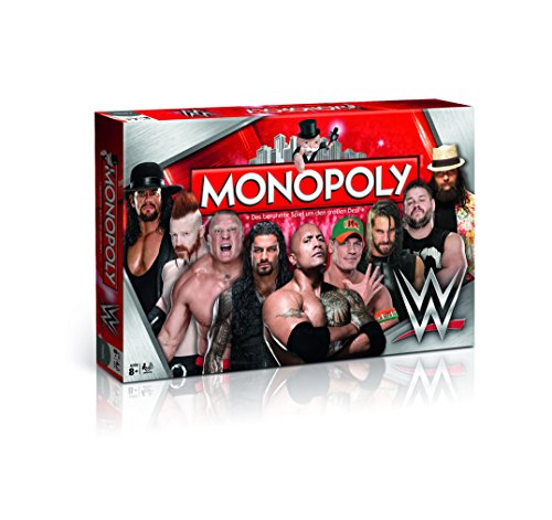 Winning Moves 44314 Monopoly: WWE Wrestling
