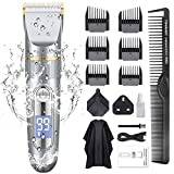 ADOKEY Professional Hair Clippers for Men Cordless Hair Trimmer Clippers Set Electric Haircut