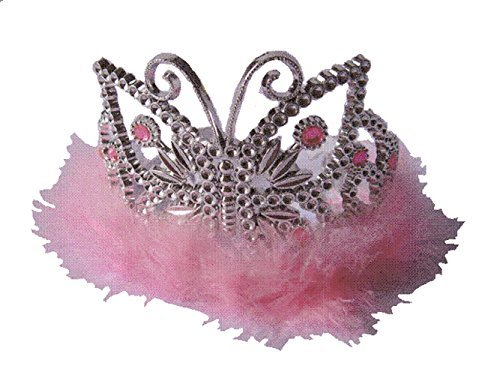 Butterfly Tiara Pale Pink