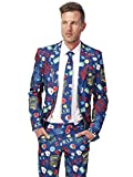 Suitmeister Halloween Suits - Casino Slot Machine - Costume Comes with Jacket, Pants & Tie