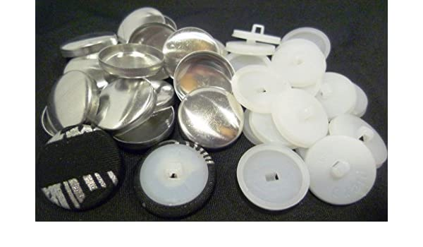 Knöpfe zum Beziehen mit Stoff Knopfpresse zum Annähen für Kleidung rostfrei