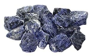budawi® - Sodalith Rohsteine-Wassersteine, Rohsteine für Wasserbrunnen, Sodalith Edelsteine