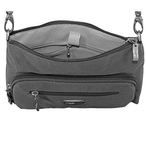 Baggallini Everyday borsa Croce corpo o borsa a tracolla della borsa VIOLET