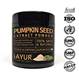 iAYUR Organic Pumpkin Seeds Extract Powder 100 Gms  Tested & Certified 100% Potent