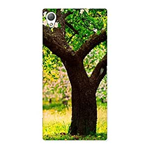 Special Green New Tree Back Case Cover for Sony Xperia Z3