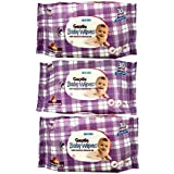 Hicks Gentle Baby Wipes With Honey & Almond Oil (Pack Of 3)