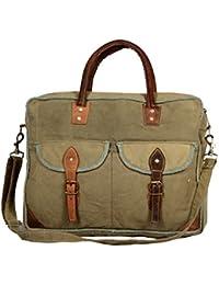 Priti Vintage Design Washed Canvas Handbag Office Handbag Travel Bag Shoulder Bag Adjustable Strap