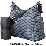 OiOi, Bolso maternal cambiador Hobo Charcoal Eclipse