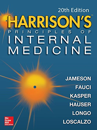 Harrison's Principles of Internal Medicine, Twentieth Edition (Vol.1 & Vol.2) (English Edition) por Dennis L. Kasper