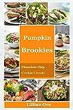 Pumpkin Brookies: Chocolate Chip Cookie Clouds