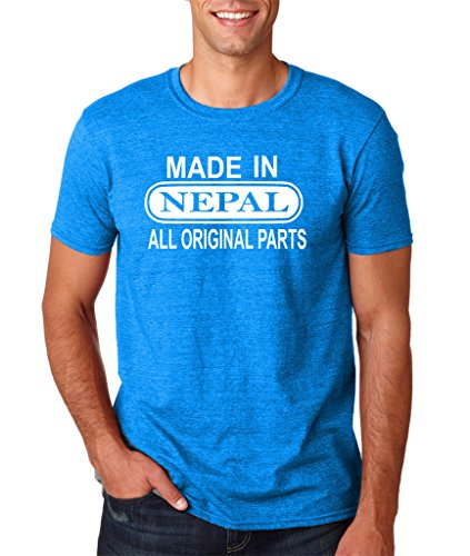 Daataadirect Herren T-Shirt Antique Sapphire