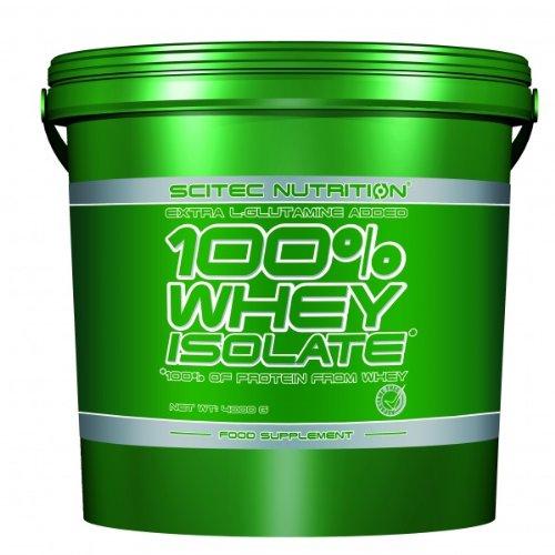 Scitec Nutrition 100% Whey Isolate Erdbeere 4000g Top-energy24 Spezialangebot