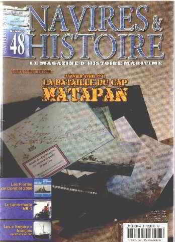 Navires et histoire n° 48 / janvier-avril 1941: la bataille du cap matapan