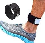 Vimmor Reflektierende Verstellbarer Arm & Knöchel Laufband Armbänder mit Mesh Tasche für Fitbit One/Fitbit Flex 2/Fitbit Alta/Alta HR Fitness Tracker Armband - Geben Sie Ihrem eine Genauere Zählen beim Radfahren,