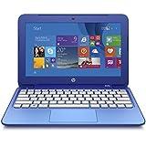 """HP Stream 11-D017NS - Portátil de 11.6"""" (Intel Celeron N2840, 2 GB RAM, HDD 32 GB eMMC + 1 TB One Drive, Intel HD, Windows 8.1 ), azul - Teclado QWERTY Español"""