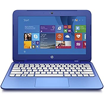 "HP Stream 11-D017NS - Portátil de 11.6"" (Intel Celeron N2840, 2 GB RAM, HDD 32 GB eMMC + 1 TB One Drive, Intel HD, Windows 8.1 ), azul - Teclado QWERTY Español"