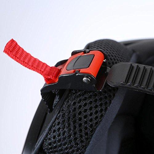 Motorradhelm Integralhelm CMX Blacky L schwarz matt mit Visier klar und getöntem Zusatzvisier - 4