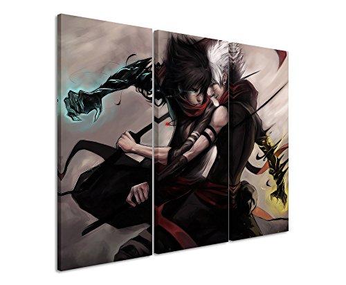 Lienzo 3piezas Anime _ Duel _ 3x 90x 40cm...