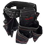Dawoo Bolsa Herramientas Cinturon,Resistente, Para Carpintería y Construcción