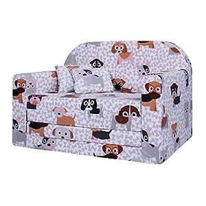 Lulando classic kindersofa kindercouch kindersessel sofa for Sofa zum schlafen