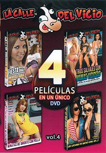 DVD PORNO abwechslungsreiches Reife–TRIOS, Nacho Leben, Travestis, Universitätspartnerschaften 4Filme im gleichen DVD. Vol4 (Gleich Leben)