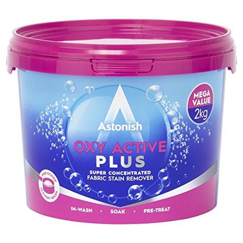 Oxy Plus (Astonish Wäschekorb Mehrzweck-Oxy Plus Fleckenentferner Reiniger Wanne 2Kg–ukb699)