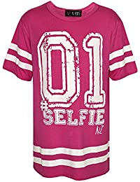 "A2Z 4 Kids® KIDS GIRLS NEW SEASON "" 01 Selfie "" PRINT BASEBALL TOP FASHION T SHIRT 7 8 9 10 11 12 13 YEARS"