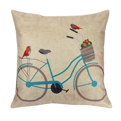 Indexp Pattern Printing Throw Cushion Cover Sofa Home Decoration Pillow case (Style I)