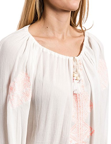 Timezone Damen Bluse Tunika Weiß (cloud white 1041)