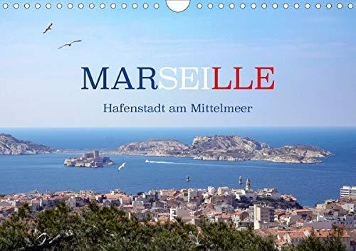 Marseille - Hafenstadt am Mittelmeer (Wandkalender 2020 DIN A4 quer)