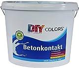 DIY Colors Betonkontakt 25kg - bläuliche Grundierung für innen und außen, lösemittelfrei, geruchsarm, zertifiziert