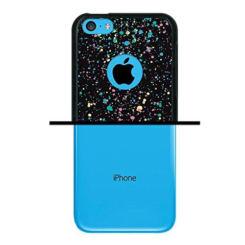 iPhone 5C Hülle, WoowCase Handyhülle Silikon für [ iPhone 5C ] Hand des Skeletts Handytasche Handy Cover Case Schutzhülle Flexible TPU - Schwarz Housse Gel iPhone 5C Schwarze D0357