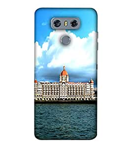 PrintVisa Designer Back Case Cover for LG G6,LG G6,H870,H870DS,G6+,H871,H872,H873,H870K,VS998,LS993,US997 (white Beautiful Hotel View Sea Side)