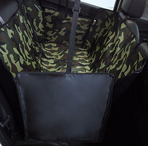 Yiyida Hundedecke für die Rückbank XXL Autoschondecke mit Seitenschutz 130*150*55 cm – universell für Autos Trucks Van und SUV Wasserfest Einfache Reinigung