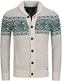 Timberland Red Hill River laine d'agneau Cardigan Sweater 5639j 303