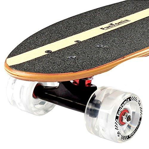 Zoom IMG-2 funtomia skateboard 66cm 7ply strati