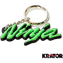Krator® Kawasaki Ninja ZX6ZX7ZX9ZXR llavero llavero Fob ZXR motocicleta