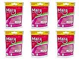 Dental Spazzole Pink di Mara Expert | 0,4mm ISO 0Extra Fine | 6X 14Interdentale Spazzole 04| Ideale per feste dente ortodontico