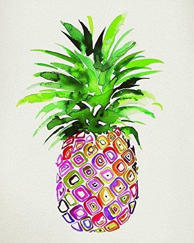 Summer Thornton ananas, 40 x 50 cm, tela stampe, multicolore