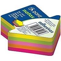 """Dohe 75017 - Pack de 250 cubos de notas adhesivas en forma de""""flecha"""", 70 x 70 mm"""