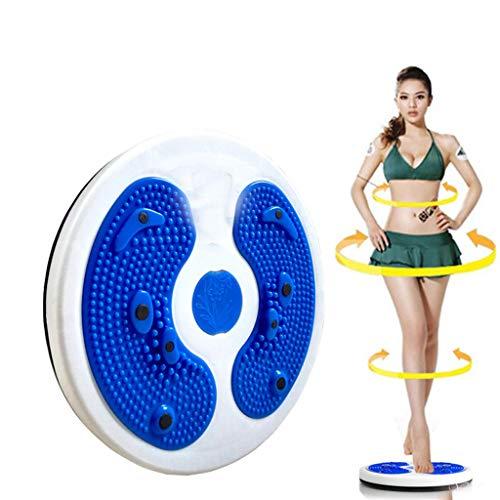TTLOVE Home Fitness Sport üBung Twist Board, KöRper Aerobic- Und Cardio Board, Fuß Massage, Drehbar, Plattform, Wobble Fit Taille Slim Disc Plate üBungsboard