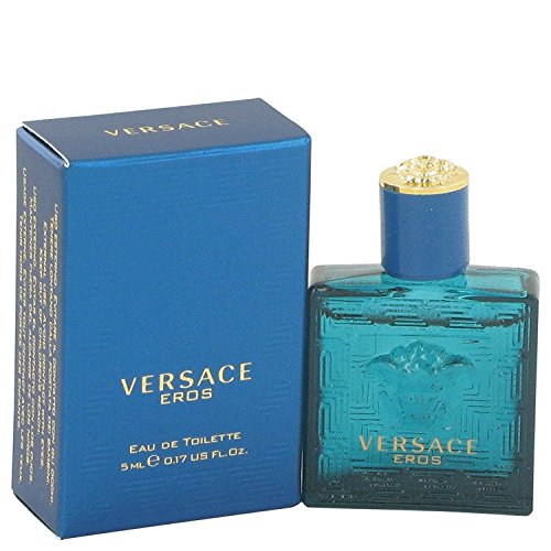 Versace Eros By Versace Mens Mini Edt .16 Oz 100% Authentic