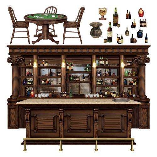 Preisvergleich Produktbild Beistle 52059 Western Saloon Props