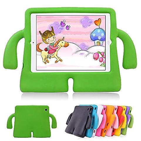 iPad Air 2Kids Étui iPad Air Étui lioeo Cute Poids léger résistant aux chocs Protection Durable cas 3D Cartoon Enfants Coques et housses de protection en mousse EVA pour Apple iPad 56génération