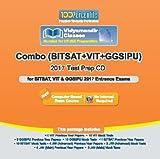 Combo of BITSAT+VIT+GGSIPU 2017 Test Pre...