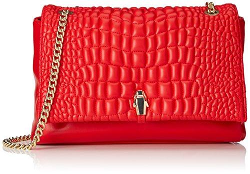 CavalliMedium shoulder bag #TrueDiva 003 - Borse a Tracolla Donna , Rosso (Rot (Red 060)), 28x18x13 cm (B x H x T)