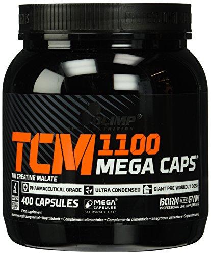 Monohydrat Tabletten Kreatin (Olimp Creatine TCM Mega Caps, 400 Kapseln)
