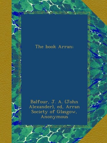 The book Arran;